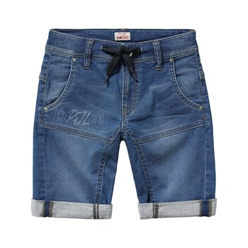 Snippet runner short - Bermuda - denim azul
