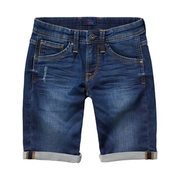 Cashed short - Bermuda - denim azul