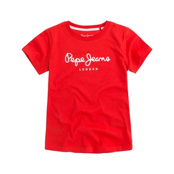 Pepe Jeans London - Art - T-shirt manches courtes - rouge
