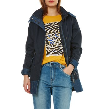 Pepe Jeans London - Perin - Mantel - marineblau