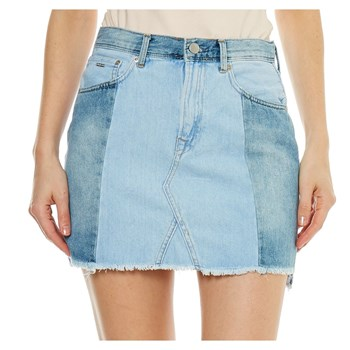 Pepe Jeans London - Reborn - Falda recta - denim azul