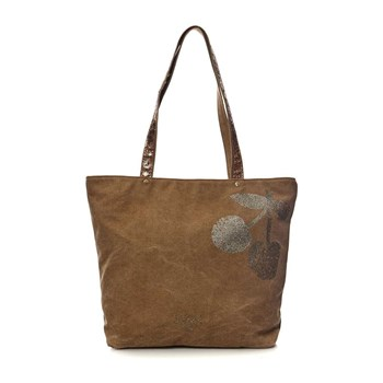 Le Temps des Cerises - Shopping Bag - kamelfarben