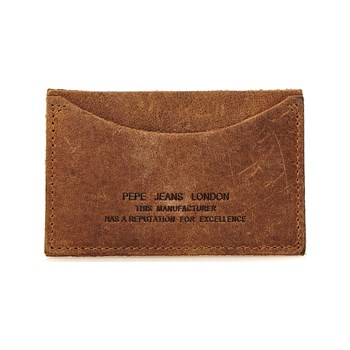 Pepe Jeans London - Longa Wallet - Porte-cartes en cuir - marron