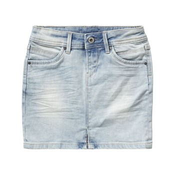 Pepe Jeans London - Monia - Gerader Rock - jeansblau
