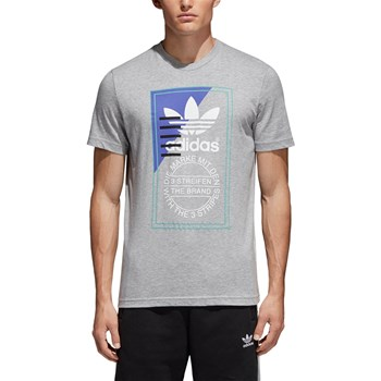Adidas Originals - Tongue Label 2 - Kurzärmeliges T-Shirt - grau