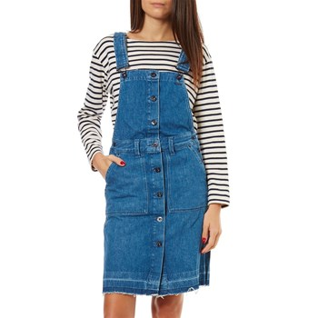 Pepe Jeans London - Cathy - Robe salopette - bleu jean