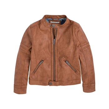 Pepe Jeans London - Charles JR - Veste biker - marron