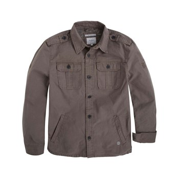 Pepe Jeans London - Willy teen - Sobrecamisa - gris arenoso