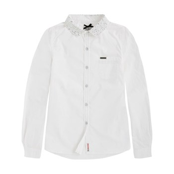 Pepe Jeans London - Addy - Camisa de manga larga - blanco