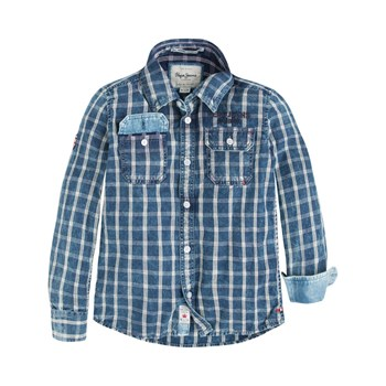 Pepe Jeans London - Sven - Camicia in jeans - blu scuro