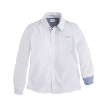 Pepe Jeans London - Malcom JR - Camisa de manga larga - blanco