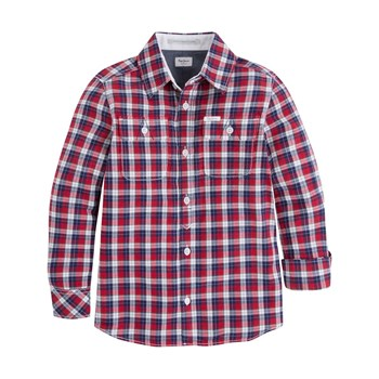 Pepe Jeans London - Mike JR - Camisa de manga larga - burdeos