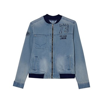 Pepe Jeans London - Barrow - Teddy - denim bleu