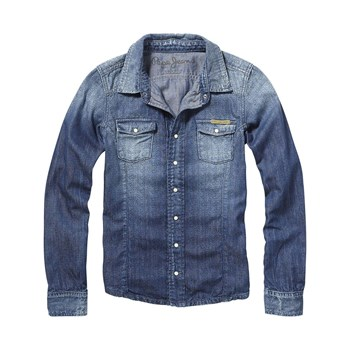Pepe Jeans London - Heather - Jeanshemd - jeansblau
