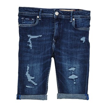 Pilow - Short vaquero - denim azul