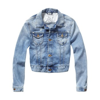 Delight - Veste en jean - denim bleu