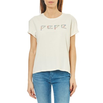 Pepe Jeans London - Olivia - T-shirt manches courtes - blanc