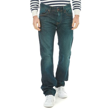 Pepe Jeans London - Kingston Zip - Jean droit - denim noir