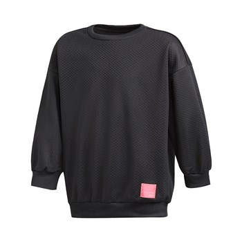 adidas Originals - J EQT Crew S - Sweat-shirt - noir