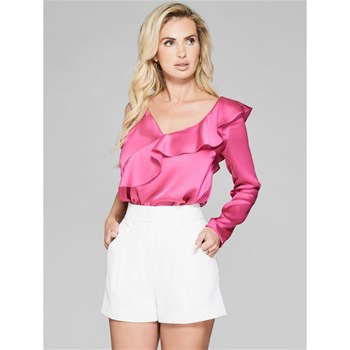 Guess - Top asymétrique - rose