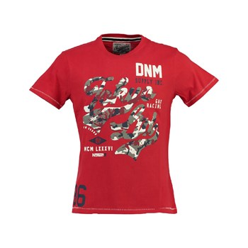Geographical Norway - Jeco 415 - T-shirt manches courtes - rouge