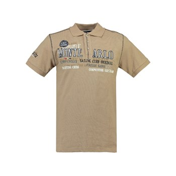 Geographical Norway - Klasseur SS - Polo manches courtes - beige