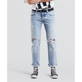 Levi's - 501 - Jean recto - denim azul