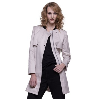Trench and coat - Trench, Imperméable - ecru