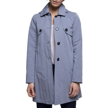Trench and coat - Sofresh - Manteau esprit riding - bleu