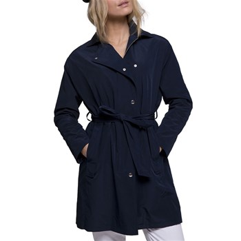 Trench and coat - Bavaro - Trench oversize - bleu marine