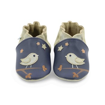 Robeez - Night birds - Pantoffels - marineblauw