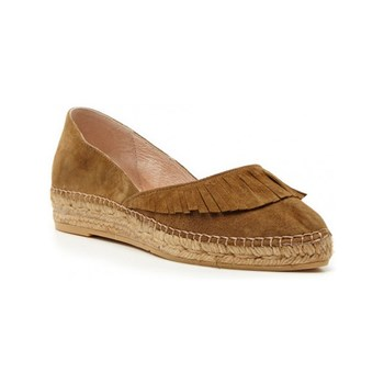 Ann Tuil - Alondra - Espadrillas in pelle - cammello