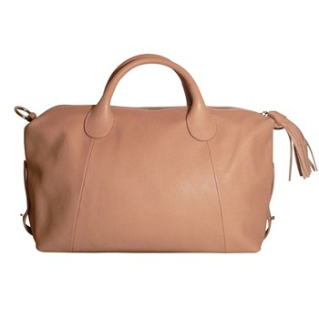 JU&ZO - Le Esther - Grand sac en cuir - rose