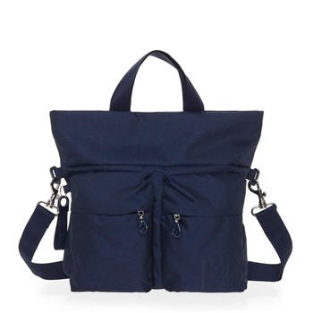 Mandarina Duck - Sac shopping - bleu
