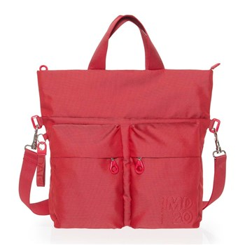 Mandarina Duck - Sac shopping - rouge