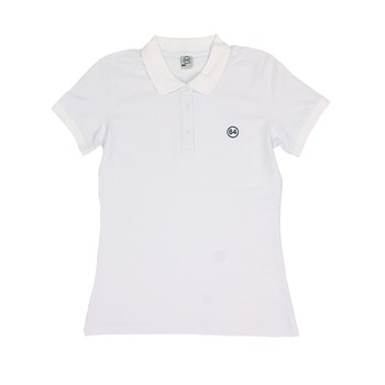 64 - Essentiels - Polo manches courtes - blanc