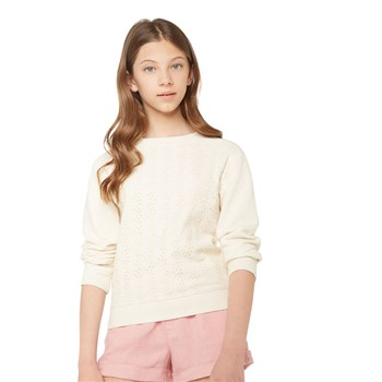 Monoprix Kids - Sweat brodé - beige
