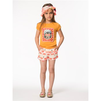 Billieblush - T-shirt manches courtes - orange