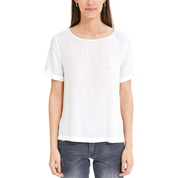 EDC By Esprit - Turn up - T-shirt, korte mouw - wit