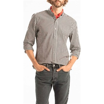 Levi's - Pacific No Pocket Shirt - Chemise manches longues - marron