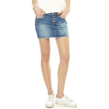 Pepe Jeans London - Sparrow - Falda recta - denim azul