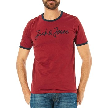 Jack & Jones - Legend - Camiseta de manga corta - burdeos