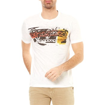 1af70e68ca1c Pepe Jeans London Amersham - T-shirt manches courtes - blanc