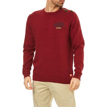Jack & Jones - Trast - Pull - bordeaux