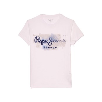 Pepe Jeans London - Golders JK - T-shirt manches courtes - blanc