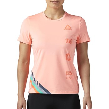 Reebok Performance - T-shirt de sport pour training - rose