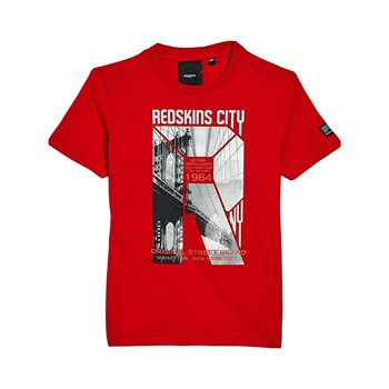 Redskins - Murdock - T-shirt manches courtes - rouge