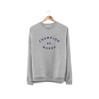 French Disorder - Champion du monde - Sweat en coton - gris