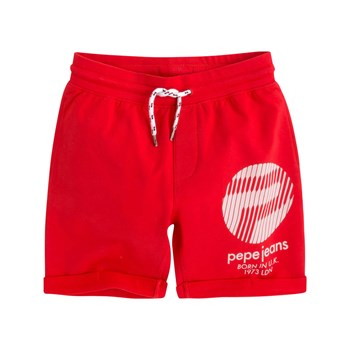 Pepe Jeans London - Ruud Jr - Short - rouge