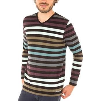 Mister Marcel - Jeff V - T-shirt manches longues - multicolore